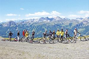 Vacances pour tous - colonies de vacances  - Serre-Chevalier - English and mountain bike